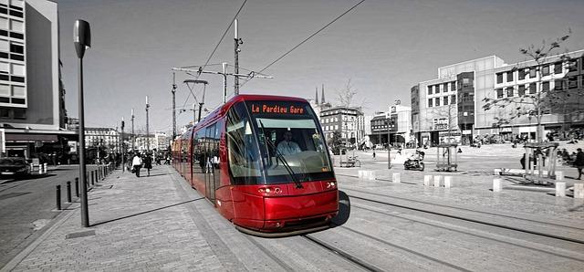 TRamway de Clermont-Ferrand (Jaude)