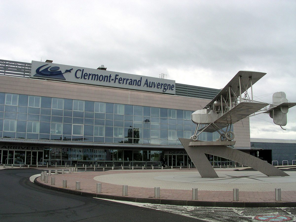 Aéroport Clermont-Ferrand Auvergne