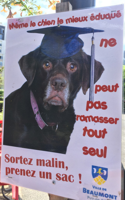 Campagne déjections canines Beaumont