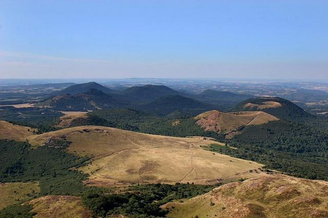Chaîne des Puys (Volcans d'Auvergne