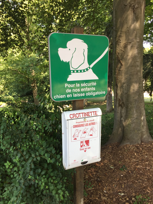 Chien Parc Bargoin Chamalières