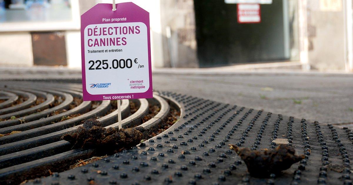 Clermont Métropole : Campagne de sensibilisation à la propreté