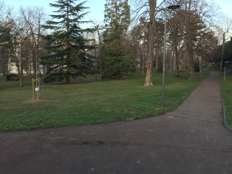 Le parc municipal Bernard de Tocqueville à Romagnat (63)