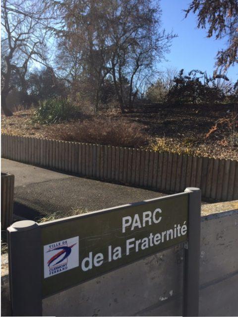 Le parc de la Fraternité à Clermont-Ferrand Nord