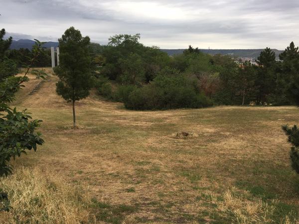 Le parc du Creux de l'Enfer à Clermont-Fd Sud