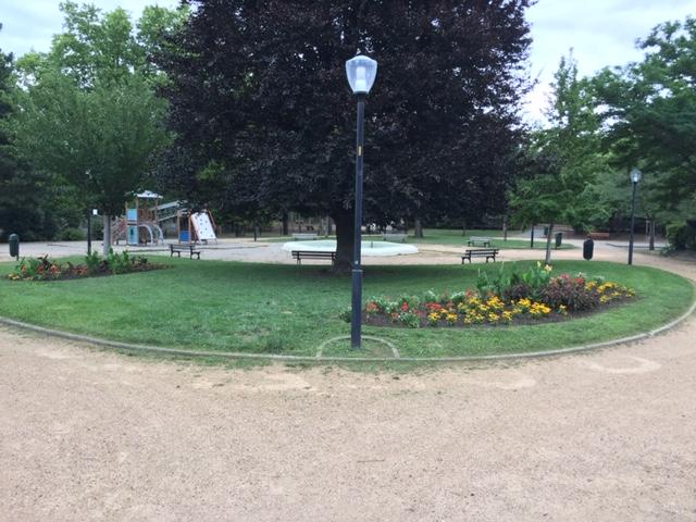 Le parc des Landais à Clermont-Fd